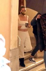 Lady Gaga On the set of Gucci House in Rome