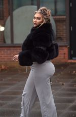 Lauren Goodger Seen for first time after she was hospitalised last week