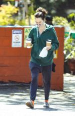 Lena Headey Spotted out at Lauren Canyon Cafe in Los Angeles