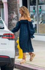Leona Lewis Seen getting picked up by her male friend in Studio City