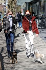 Lili Reinhart Оut with her dog in Vancouver