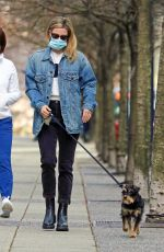 Lili Reinhart Spotted out walking her pup in Vancouver