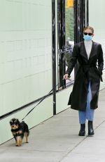 Lili Reinhart Takes her dog Milo out in Vancouver