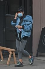 Lily Allen Spotted leaving a nail salon in Orpington, London