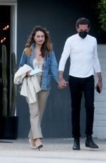 Lily James And Michael Shuman enjoy a romantic getaway in Palm Springs