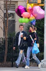Lily Rose Depp Is spotted stepping out on Easter morning in New York City