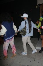Lizzo, Kehlani & SZA Holding hands after dinner at The Nice Guy in Los Angeles