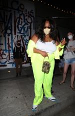Lizzo Leaves dinner at Craig