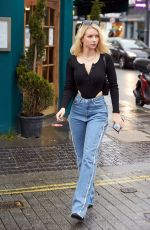Lottie Moss Pictured near her home in Chelsea after quarantining since her trip to Los Angeles