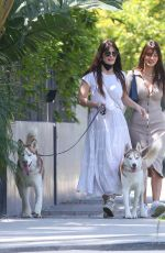 Lucila Sola and Camila Morrone are seen in Los Angeles