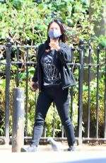 Lucy Liu Out in New York