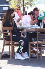 Madison Beer Has lunch in LA