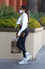 Madison Beer Shopping at Erewhon in LA