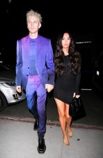 Megan Fox On a night out in West Hollywood