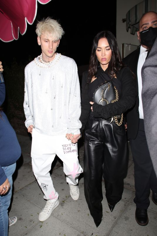 Megan Fox Out at dinner in Los Angeles