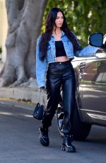 Megan Fox Was spotted leaving a West Hollywood Salon