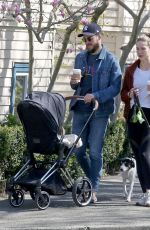 Melissa Benoist Out with her family in Vancouver