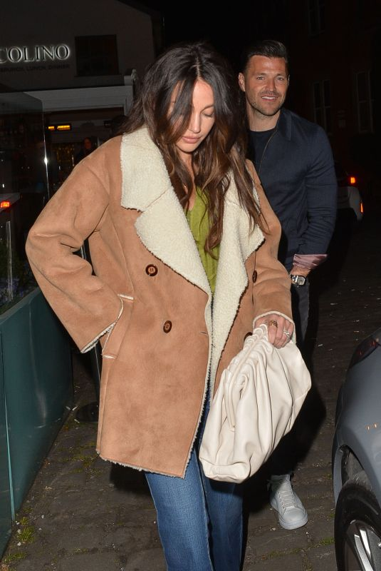 Michelle Keegan At Night out in Cheshire