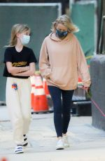 Naomi Watts Spotted taking her dog for an afternoon stroll in Tribeca