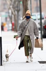 Naomi Watts Steps out to walk her dog with in New York