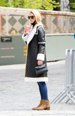 Nicky Hilton Looks chic & warm while out in SoHo running errands - New York