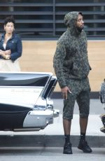 Nicole Murphy On a date with mystery man for happy hour at Ocean Prime in a vintage car