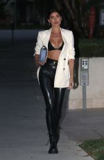 Nicole Williams Steps out wearing a daring outfit in Beverly Hills