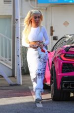 Nikita Dragun Goes shopping at Valentino Boutique in Beverly Hills