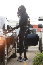 Nina Dobrev Leaving the Rise Nation gym in West Hollywood