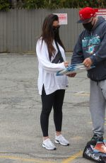 Olivia Munn Interacting with fan in West Hollywood
