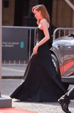 Phoebe Dynevor Arriving at the EE British Academy Film Awards 2021 at the Royal Albert Hall