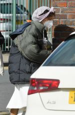Phoebe Dynevor On the set of A Beacon of Change in Manchester