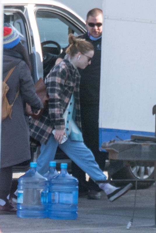 Phoebe Dynevor On the set of The Color Room in London