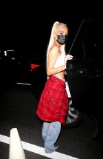 Pia Mia Looks casual chic for a night out at the nice guy in West Hollywood