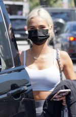 Pia Mia Seen leaving a workout at Dogpound in West Hollywood