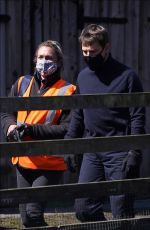 Pom Klementieff, Tom Cruise & Hayley Atwell Spotted filming