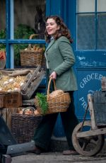 Rachel Shenton Spotted for the first time on the set of series 2 of