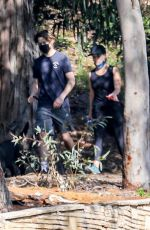 Reese Witherspoon Spent some quality time with her son Deacon while on a hiking session near their Palisades home