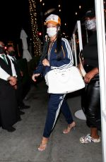 Rihanna Keeps it casual and brings out the Adidas tracksuit in Beverly Hills