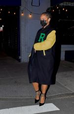 Rihanna Out for dinner with beau A$AP rocky in New York
