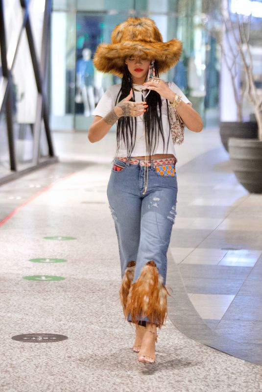 Rihanna Out in LA