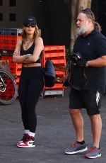 Rita Ora Pictured out for a photoshoot in Sydney, Australia