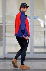 Rita Ora Shows off her toned figure as she is pictured leaving a gym session in Sydney, Australia
