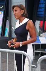 Robin Roberts On the set of Good Morning America in New York