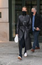 Rosie Huntington-Whiteley Leaving the Crosby Hotel in NYC