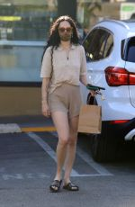 Rumer & Scout Willis Go on a juice run together after a pilates class in West Hollywood