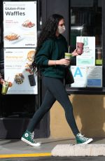 Rumer Willis Buys a drink at Earth Bar in West Hollywood