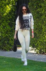 Rumer Willis Leaving a pilates class in Beverly Hills