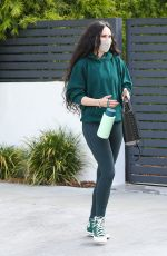 Rumer Willis Leaving a pilates class in West Hollywood