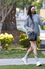 Rumer Willis Shows off her pins heading to Pilates
